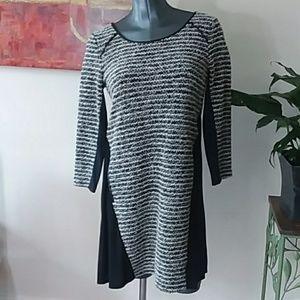 MAEVE 66170 3/4 sleeve dress small midi pockets